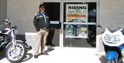 Several hundred BMW GS owners came to Bob's BMW on a sunny April Saturday to kick tires, swap stories, look at new GS models, watch my multi-media show and buy some of my books and DVDs.